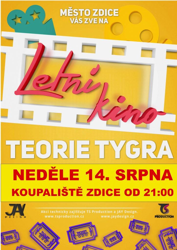 95b95f3d9e6 Akce - Teorie tygra - letní kino na koupališti - Oficiální stránky ...