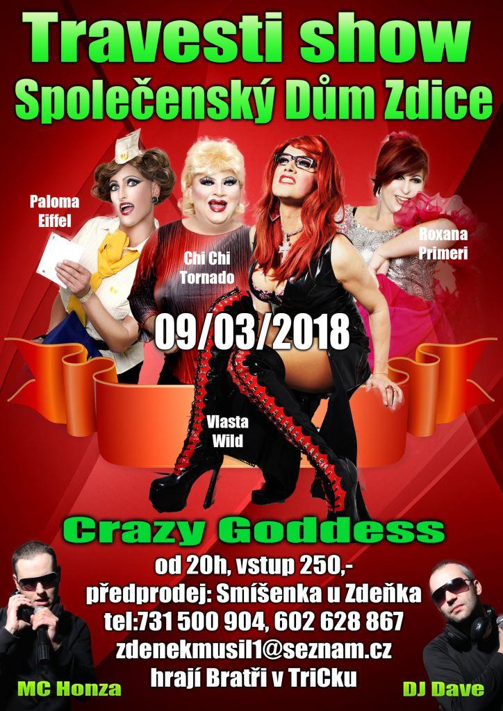 654472686bf Akce - Travesti show - Oficiální stránky Města Zdice