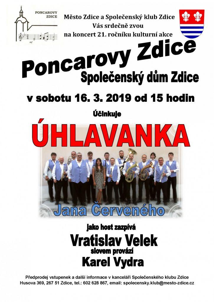 019747b986c Účinkuje  ÚHLAVANKA kapelníka Jana Červeného Host  Vratislav Velek Slovem  provází  Karel Vydra
